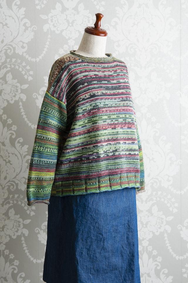 ラウンドネックセーター02