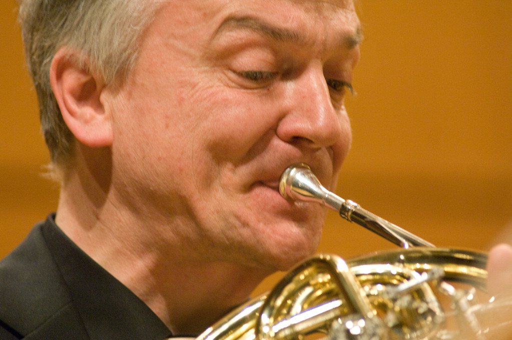 International Brass - Wilhelm Junker - beim International Brass Festival Düren (Copyright WDR / Martin Eggert)