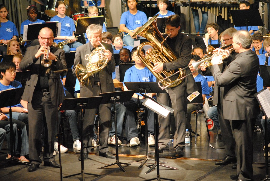 International Brass bei AMIS, International School Düsseldorf