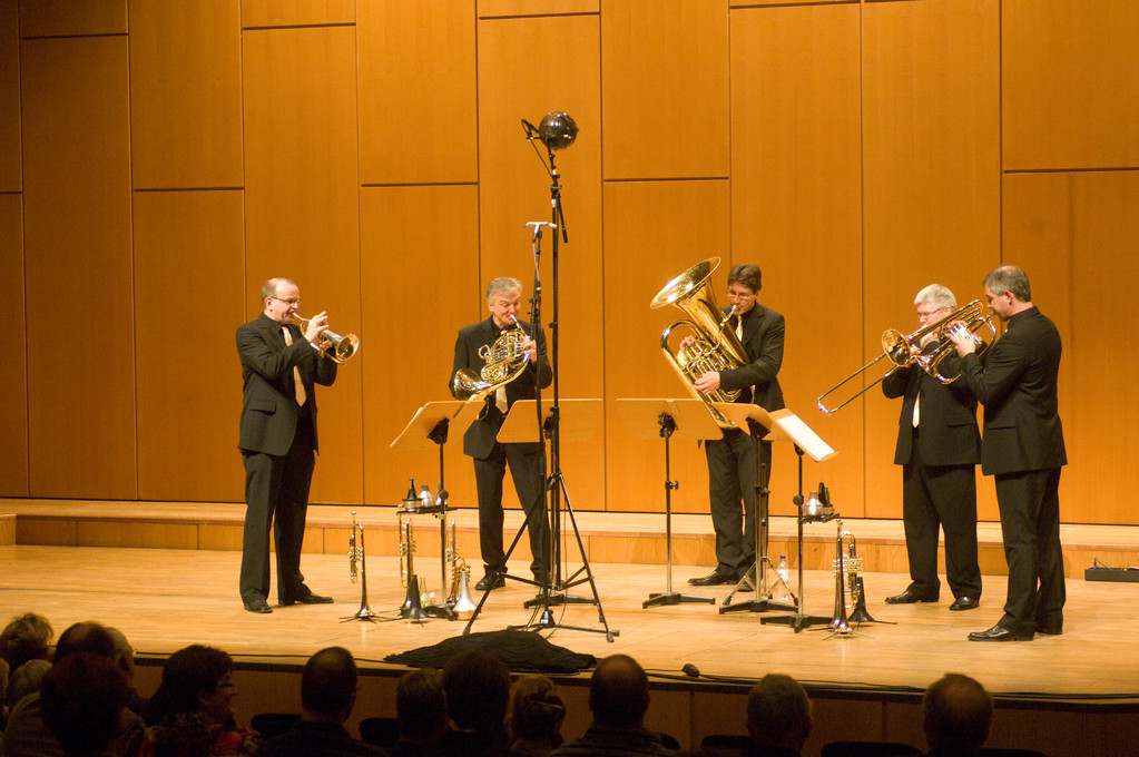 International Brass beim International Brass Festival Düren (Copyright WDR / Martin Eggert)