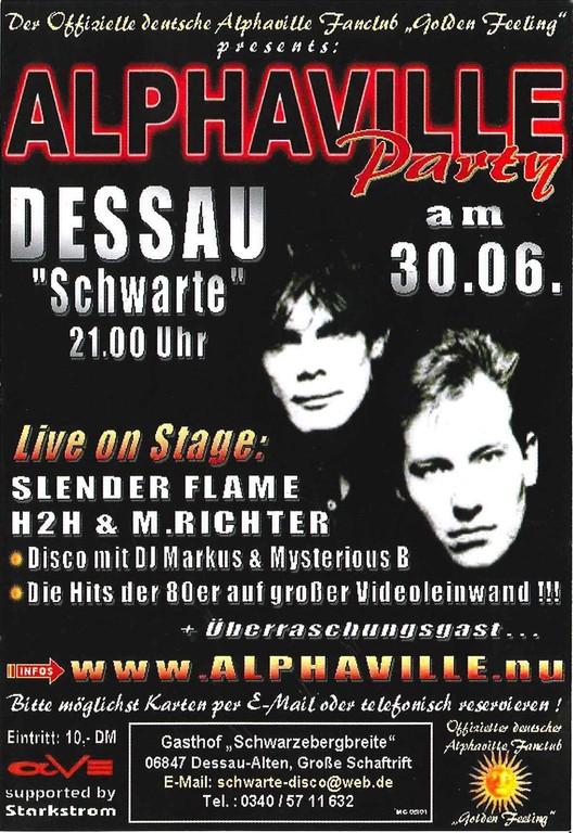 2001: Alphaville-Fantreffen in Dessau