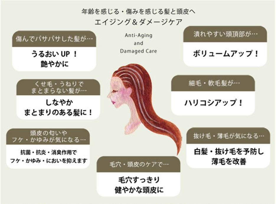ヘナ ヘナカラー うるおいアップ しなやか まとまりのある髪に ハリコシもアップ 毛穴すっきり