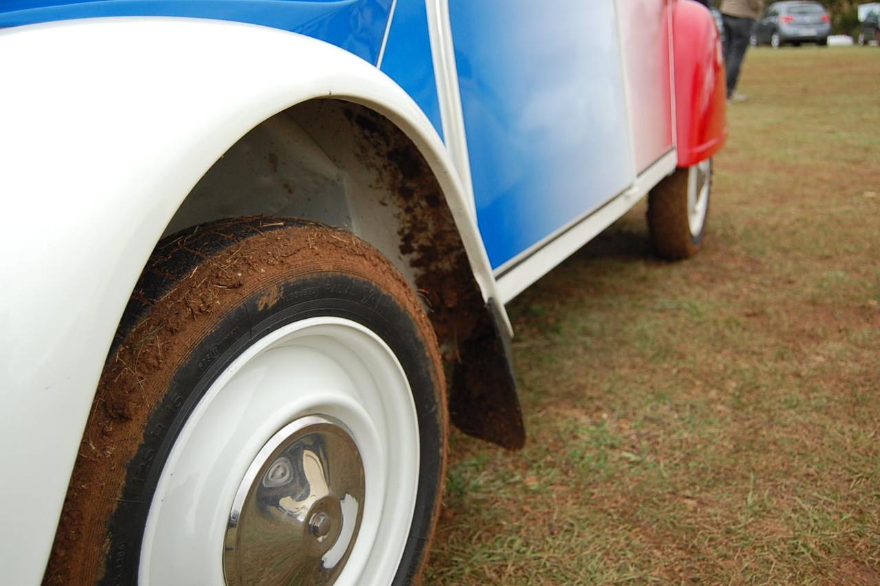 de la boue sous la cocorico!!!