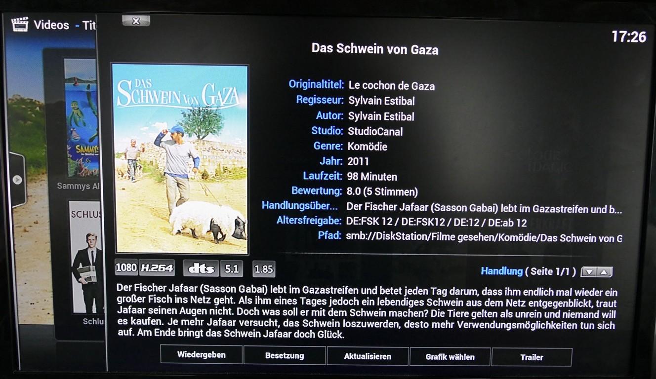 Inhaltsbeschreibung des ausgewählen Films