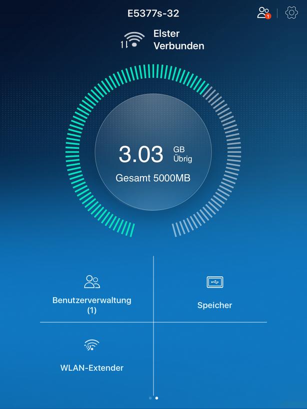 Huawei HiLink App - WLAN Extender