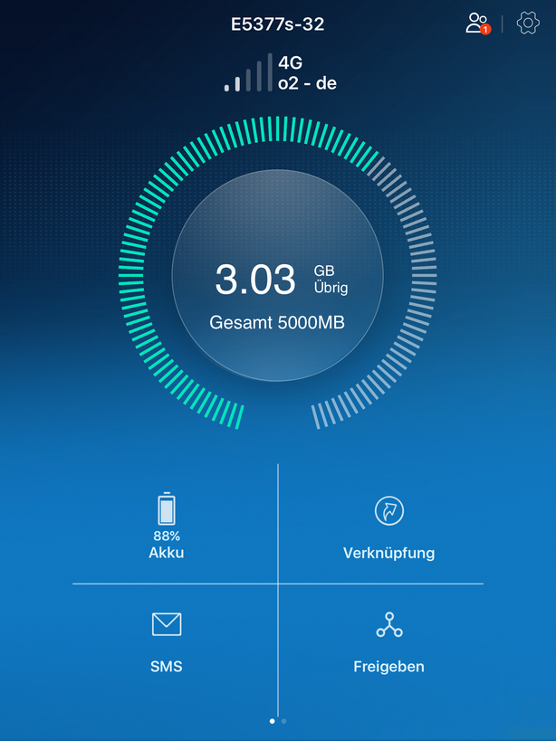 Huawei HiLink App - LTE
