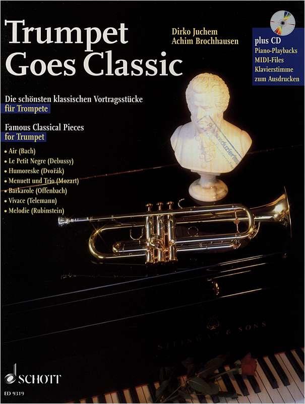 Repertoire Classics für Trompete Trumpet und Klavier Piano Noten mit CD