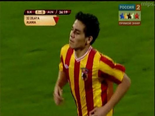 Fito Zelaya ya jugo en la Europa League
