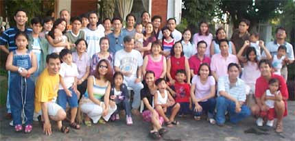 フィリピン人家族:日本よりはるかに大規模!