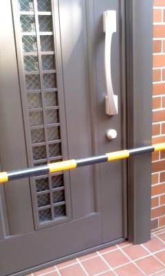 玄関ドアカバー工法施工後