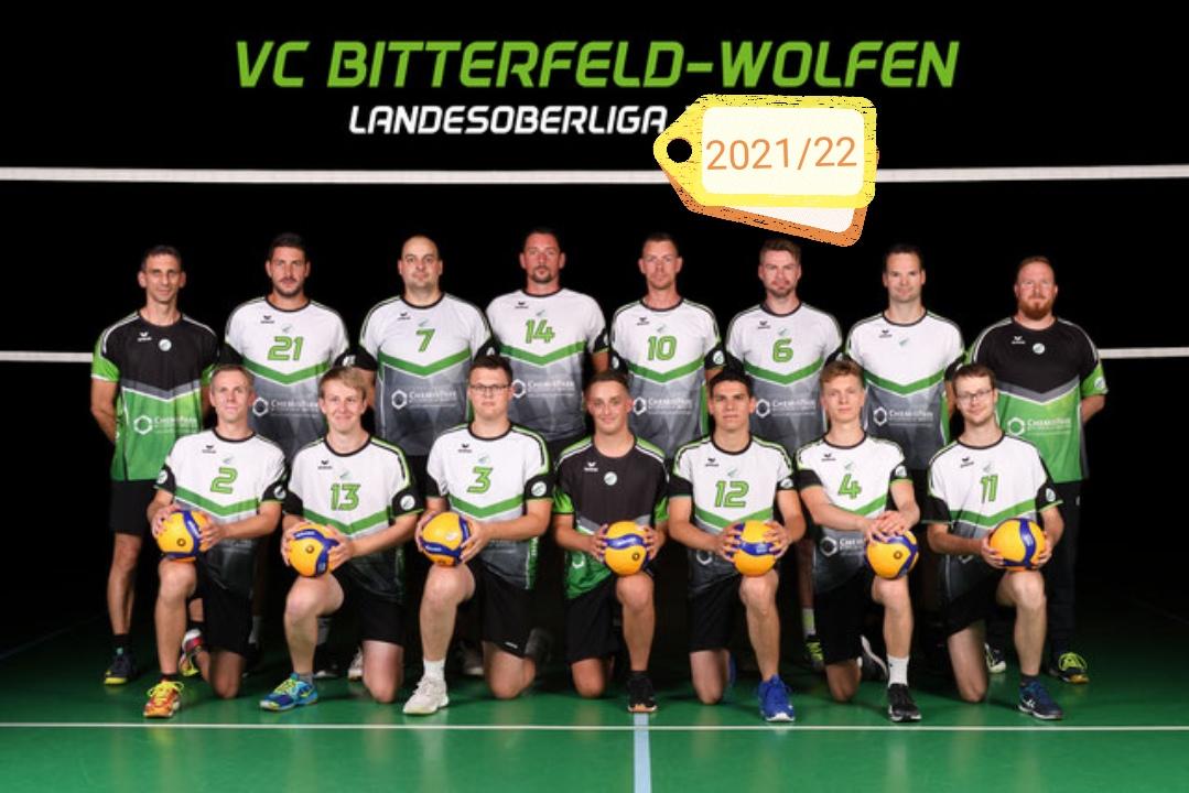 VC Bitterfeld-Wolfen II erneut siegreich