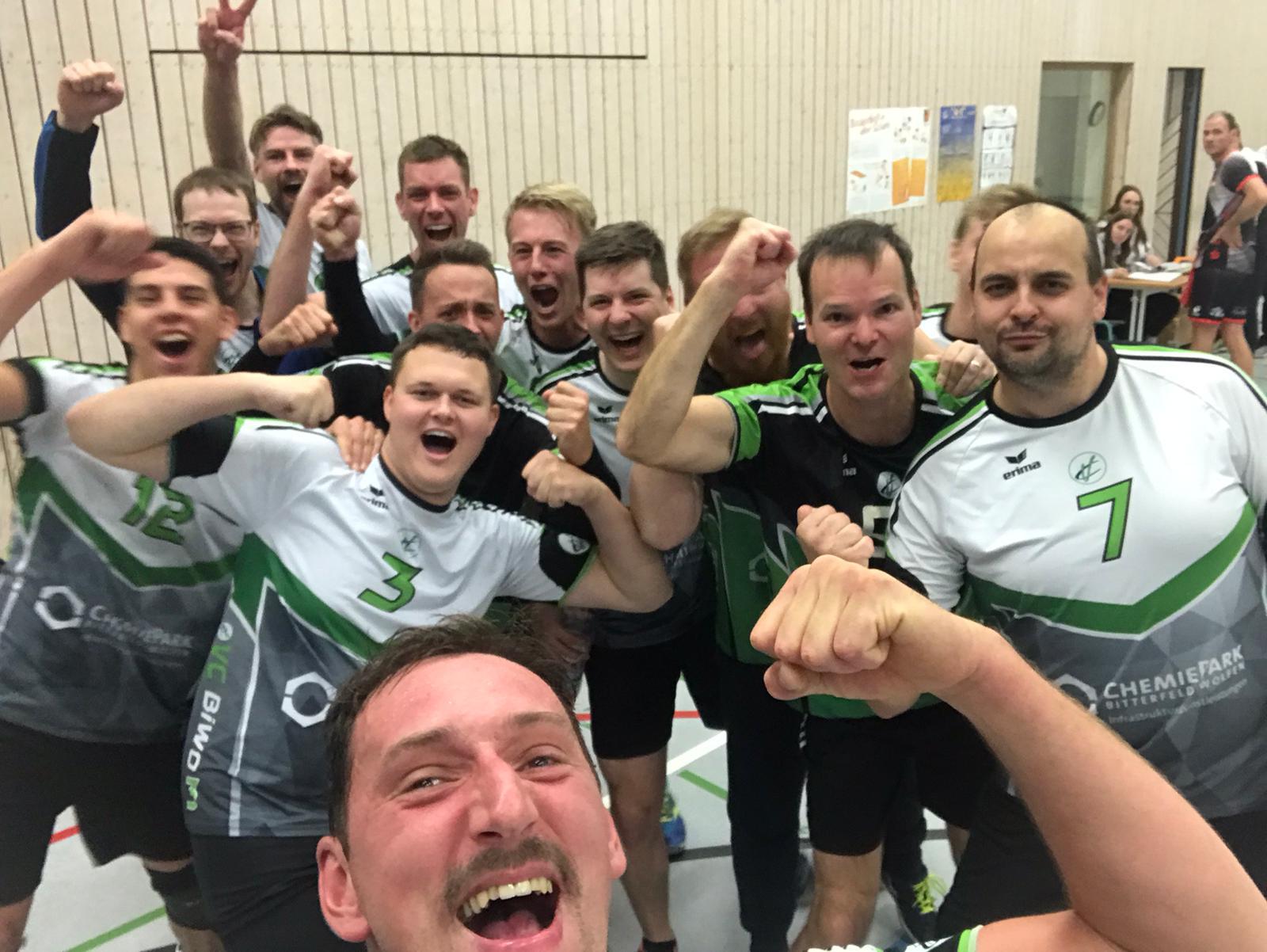 VC BiWo Herren 2 mit erstem Saisonspiel