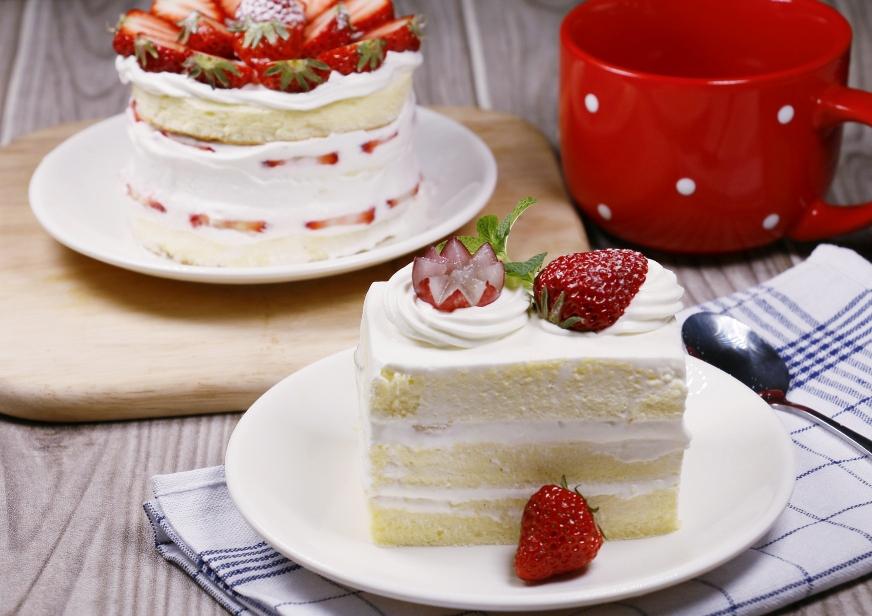 Fraisier gâteau au fraises
