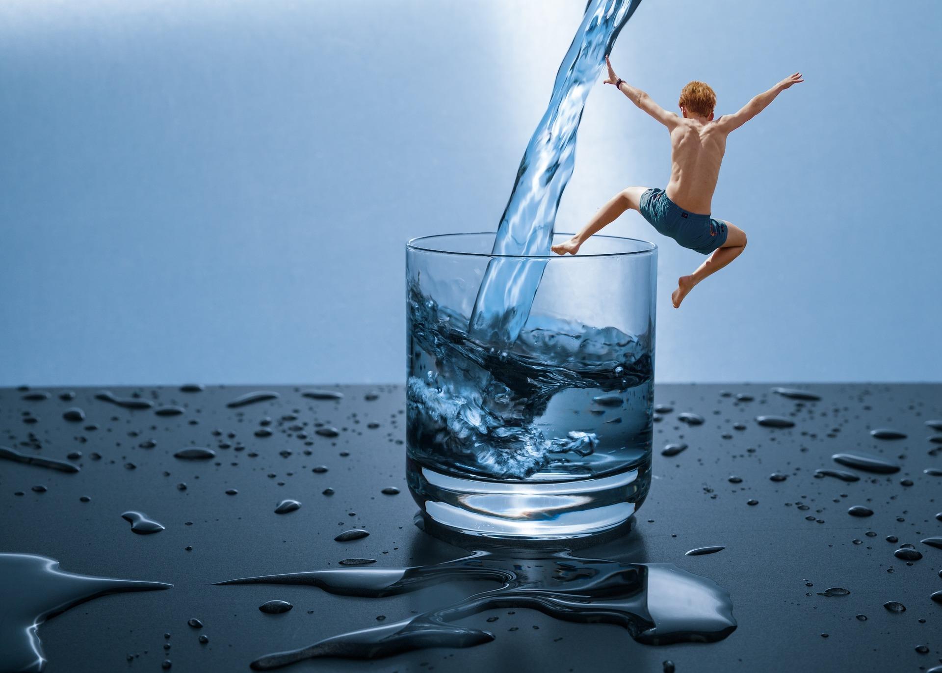 Wasser - unser Lebenselexir