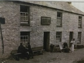 Lamorna Inn (Wink) in 1923 (Photo: The Lamorna Archive)