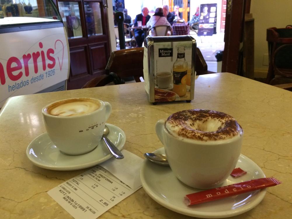 Kaffee und Cappuccino für 2,85€