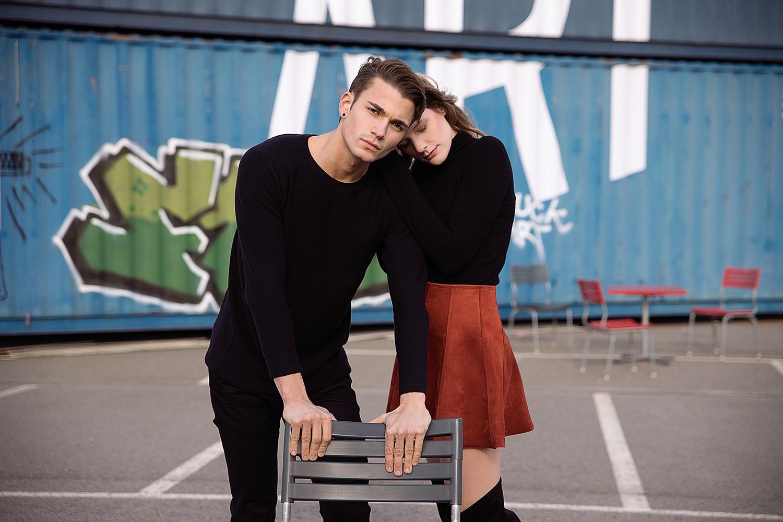 Nadine und Luis