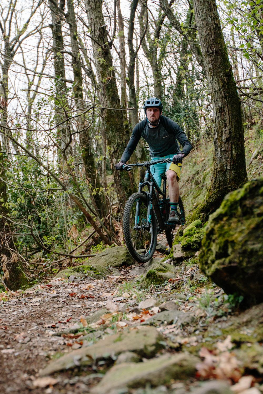 Biken in Morcote