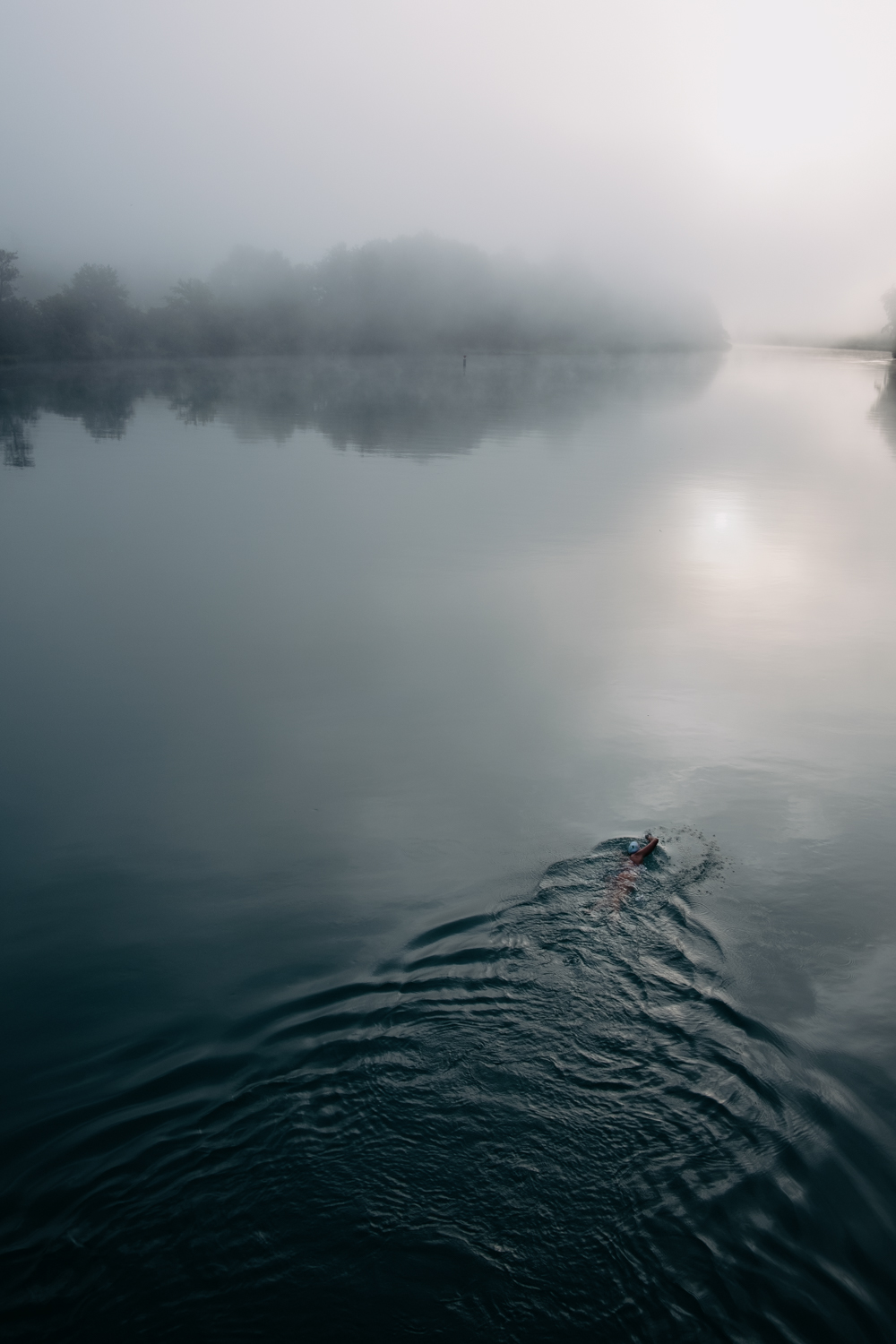 Openwater Swimming mit Cherelle