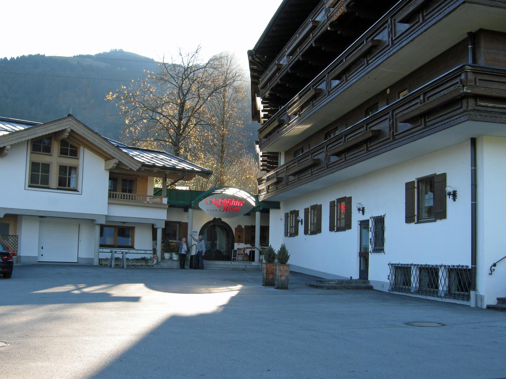 Ankunft in Oberndorf im Tirol