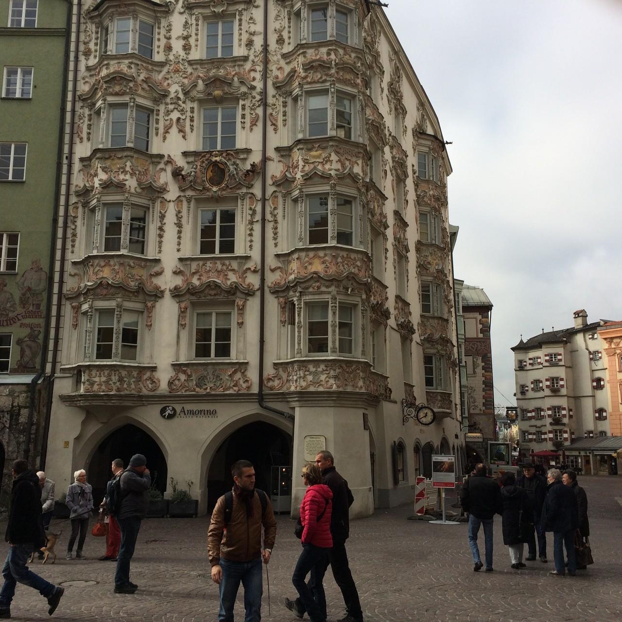 In der Altstadt von Innsbruck
