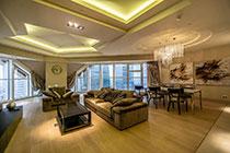 ID M086 Башня Меркурий - трехкомнатный апартамент в аренду на длительный срок.
