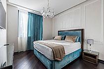 ID 0410 Воробьев дом - четырехкомнатная квартира в аренду - Воробьевское шоссе 4С1.