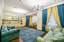 ЖК Мосфильмовский - Мосфильмовская 88к4с3 - 4х комнатная квартира в аренду.