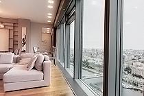 ID 065 Москва-Сити башня Москва - двухкомнатный апартамент в аренду.