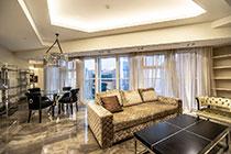 ID M088 Башня Меркурий - двухкомнатный апартамент в аренду на длительный срок.