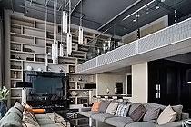 "ID 176 Продажа двухуровневнего апартамента с высокими потолками в ""Москва-Сити""."