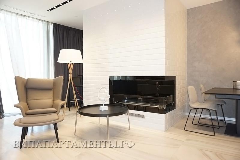 Город Столиц - Двухкомнатный апартамент в аренду Башня Москва.