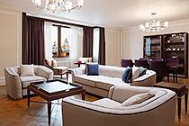 ID OR514 Двухкомнатный апартамент в аренду в здании отеля Four Seasons Hotel Moscow, Охотный Ряд 2.