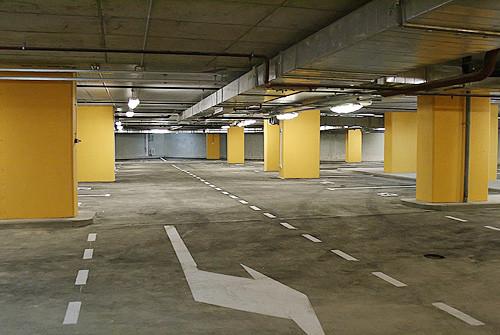 ЖК Каскад жилой комплекс на Академика Туполева 15. Паркинг.