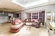 ID M095 Меркурий Сити двухкомнатный апартамент в аренду надлительный срок.