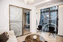 ID IQ098 - МФК «IQ-квартал» Двухкомнатный апартамент в аренду.