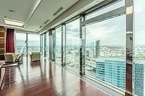 "ID 052 Башня ""Санкт-Петербург"" - 44-й этаж, видовой апартамент в аренду!"
