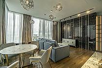 "ID N098 Москва-Сити башня ""Neva Towers"" - двухкомнатный апартамент в аренду."