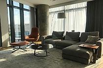 ID IQ099 - МФК «IQ-квартал» Двухкомнатный апартамент в аренду.