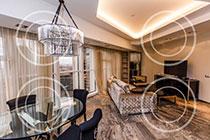 ID M090 Башня Меркурий - двухкомнатный апартамент в аренду на длительный срок.