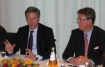 Christian Wulff und Michael Grosse-Brömer MdB
