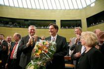 Ministerpräsident David McAllister nach seiner Wahl / Bild: Laurence Chaperon (www.chaperon.de)