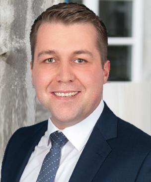 Der CDU-Kandidat für das Bürgermeisteramt Andreas Dovern
