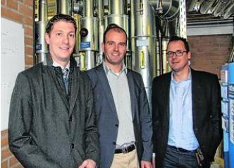 Jochen Emonds (Vorsitzender ASKST), Tobias Röhm (Technischer Beigeordneter), und Bernd Kistermann (Leiter des Amts für Immobilienmanagement und technische Infrastruktur) haben dafür gesorgt, dass sich in der Vichter Mehrzweckhalle schon einiges getan hat.