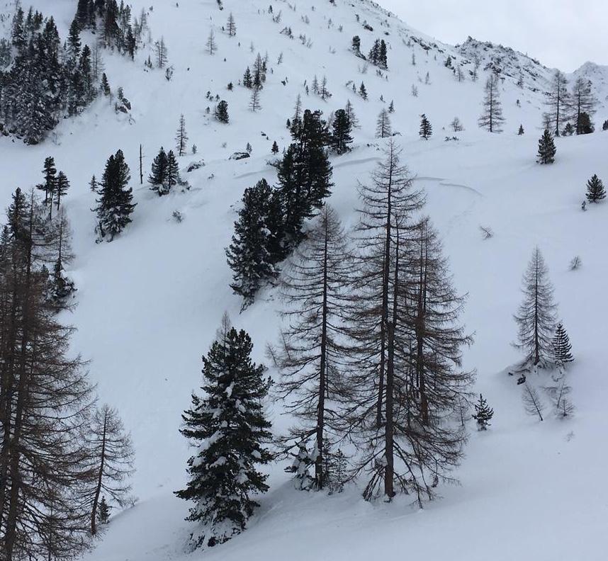 Schneebrett Obertauern