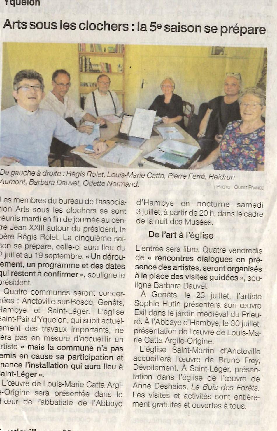 Ouest-France - 24 juin 2021