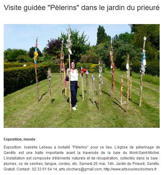 Info Locale - Genêts - 25 mai 2018