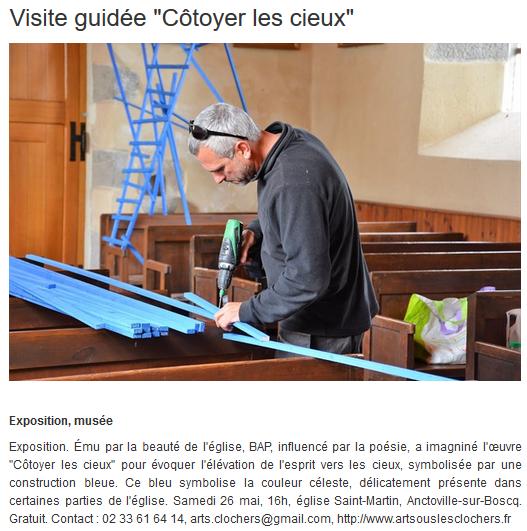 Info Locale - Anctoville-sur-Boscq - 25 mai 2018