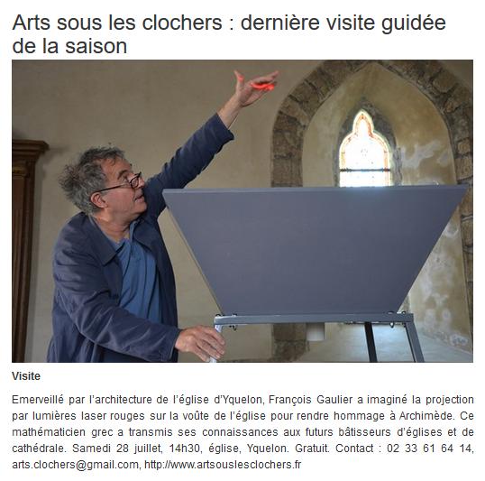 Infolocale - François Gaulier - 25 juillet 2018
