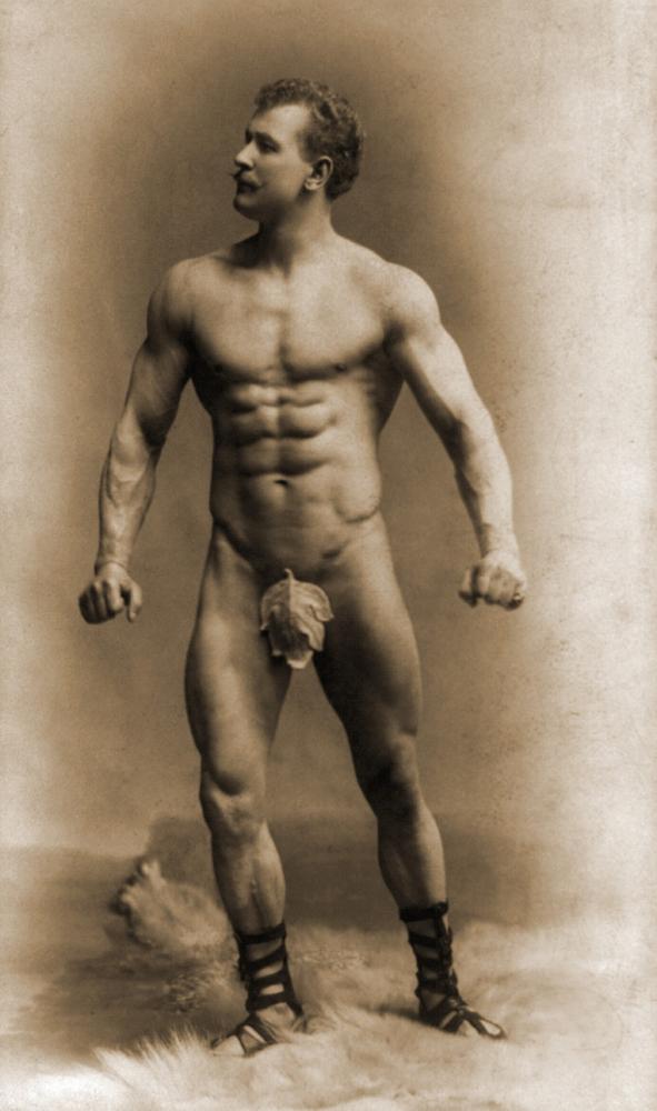 Eugen Sandow (1867-1925) Vorreiter des Kraftsports und Bodybuildings.